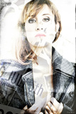 Fashion Face Photographic Print by Philippe Hugonnard