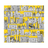 New York Yellow Prints by Sharon Turner