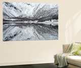 Reflection Lofoten Wall Mural by Philippe Sainte-Laudy