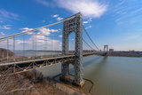George Washington Bridge Photographic Print by  jgorzynik