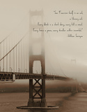 San Francisco Itself is an Art Giclee Print by  Graffi*tee Studios