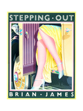 Stepping Out Posters af Brian James