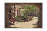 Hidden Garden - Villa Di Camigliano Tuscany Prints by Richard Harpum