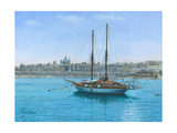 Hera Ii Valletta Malta Prints by Richard Harpum