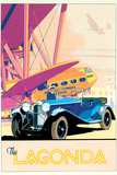 The Lagonda Affiches par Brian James