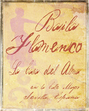 Baila Flamenco Giclee Print by  Graffi*tee Studios