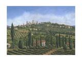 San Gimignano Tuscany Posters by Richard Harpum