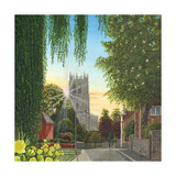 Summer Morning St Mary's Church Tickhill Yorkshire Print by Richard Harpum