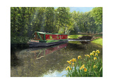 Kathleen May Chesterfield Canal Notts Prints by Richard Harpum