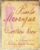 Baila Merengue Giclee Print by  Graffi*tee Studios