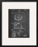 Firemen Helmet Patent Prints