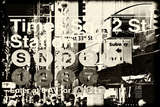 Subway and City Art - Times Square - 42 Street Station Photographic Print by Philippe Hugonnard