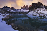 Las Torres Del Paine Photographic Print by Yan Zhang