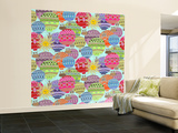 Candy Sky Wall Mural – Large by Sharon Turner