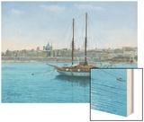Hera Ii Valletta Malta Wood Print by Richard Harpum
