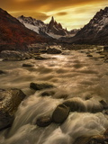 The Gloaming of Cerre Torre Photographic Print by Yan Zhang