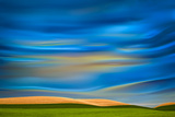 Palouse Abstract 1 Photographic Print by Ursula Abresch