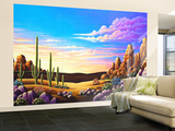 Red Rocks 11 Wall Mural – Large by Andy Russell