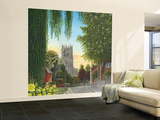 Summer Morning St Mary's Church Tickhill Yorkshire Wall Mural – Large by Richard Harpum