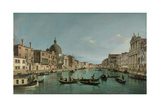 The Grand Canal in Venice with San Simeone Piccolo and the Scalzi Church, C. 1738 Giclee Print by  Canaletto