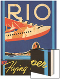 Rio by Flying Clipper Poster by Brian James