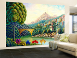 Painters Creek 2 Wall Mural – Large by Andy Russell