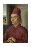Portrait of Young Man, Perhaps Jan Van Winckele, 1462 Giclee Print by Dirck Bouts