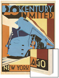 NY to Chicago Wood Print by Brian James