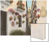 Calleje De Las Flores Cordoba Wood Print by Richard Harpum