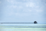 Pier Far Photographic Print by Marco Carmassi