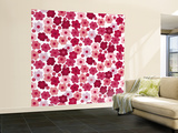 Cherry Blossom Pop Wall Mural – Large by Sharon Turner