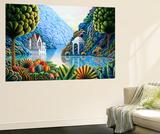 Teal Lake Vægplakat af Andy Russell