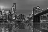 The Bridge Ny Photographic Print by Marco Carmassi