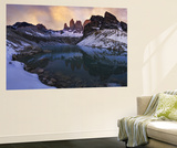 Las Torres Del Paine Wall Mural by Yan Zhang