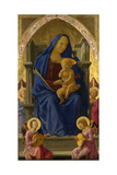 Virgin and Child (Pisa Polyptych), 1426 Giclee Print by Tommaso Masaccio