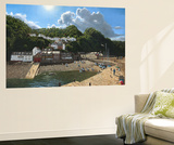 Summer Evening Clovelly North Devon Wall Mural by Richard Harpum