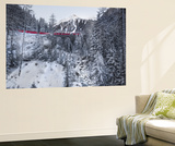 Bernina Express Wall Mural by Marco Carmassi