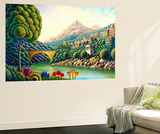 Painters Creek 2 Wall Mural by Andy Russell