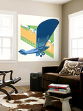 Aerodrome Wall Mural by Brian James