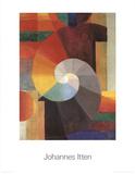Die Begegnung Prints by Johannes Itten
