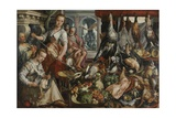 The Well-Stocked Kitchen, 1566 Giclee Print by Joachim Beuckelaer