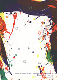 National Collection Serigraph by Sam Francis