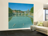Rowing on the Tiber Rome Wall Mural – Large by Richard Harpum