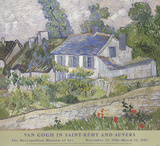 Houses At Auvers Collectable Print by Vincent van Gogh