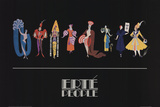 People Posters by  Erte
