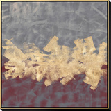 Gilded Fresco II Hand Embellished Canvas by Jennifer Goldberger