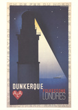 Dunkerque Collectable Print by A.M. Cassandre