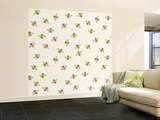 Just Little Bees Wall Mural – Large by Sharon Turner