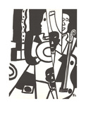 Jazz Posters by Fernand Leger