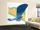 Aerodrome Vægplakat, stor af Brian James